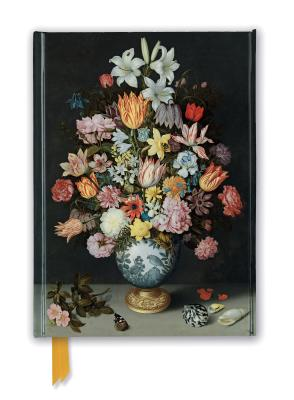 National Gallery Foiled Notebook: Bosschaert the Elder - Still Life of Flowers in a Wan-li Vase