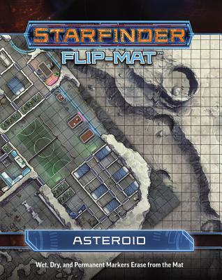 Starfinder Flip-Mat Starship - Asteroid