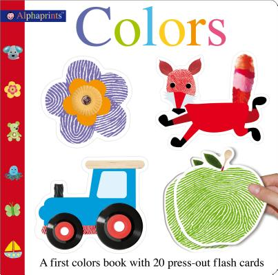 Alphaprints Colors Flash Card Book: With 20 Press-Out Flash Cards