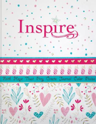 Inspire for Girls: New Living Translation, Coloring & Creative Journaling