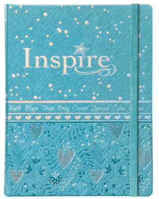Inspire for Girls: New Living Translation, The Bible for Coloring & Creative Journaling
