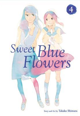 Sweet Blue Flowers 4