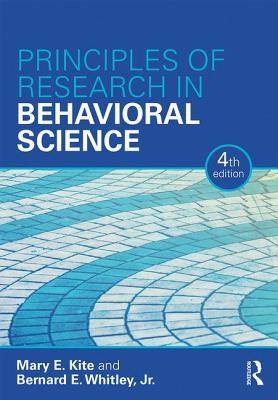 Principles of Research in Behavioral Science