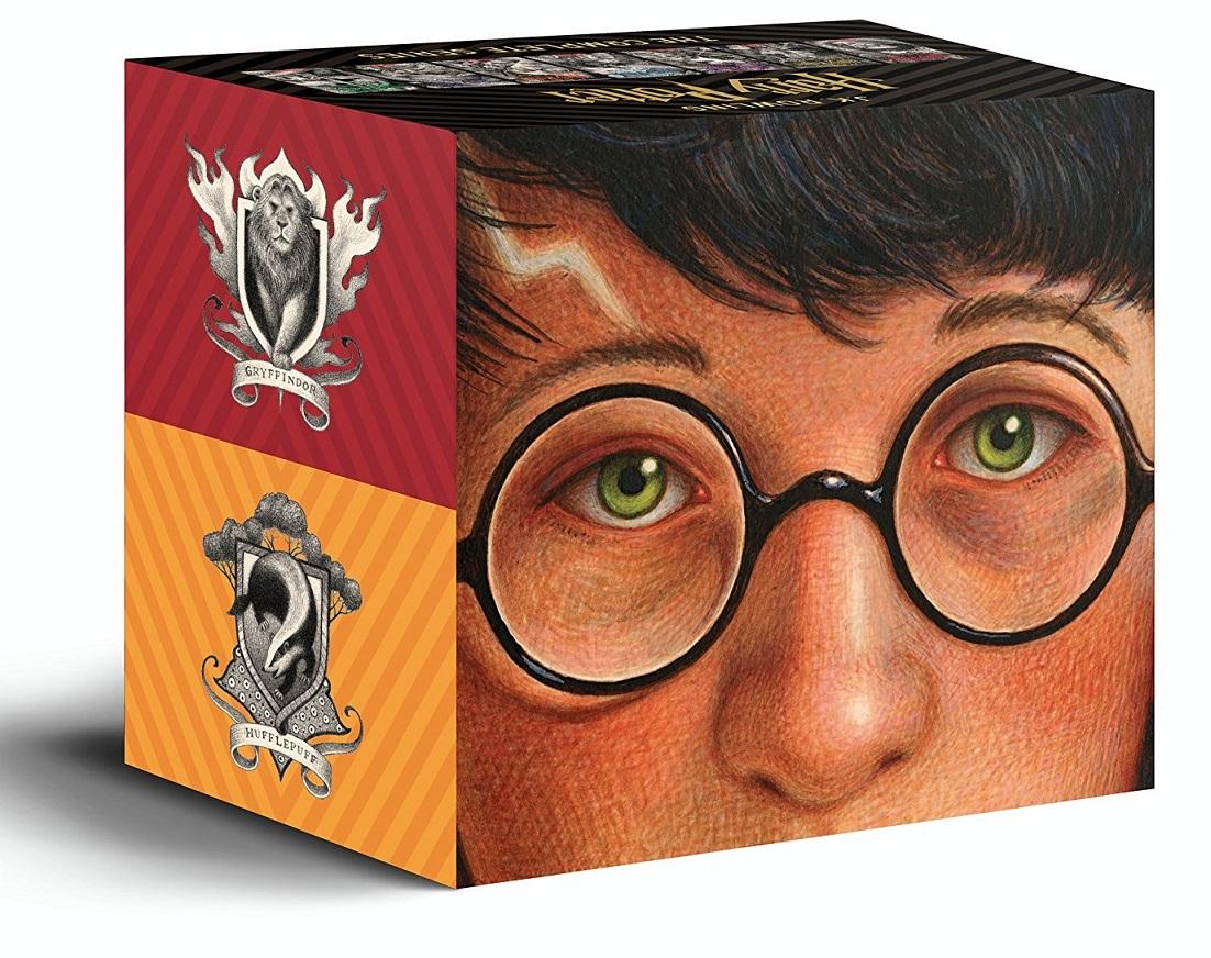 Harry Potter Books 1-7 Special Edition Boxed Set 哈利波特 1-7集套書【20週年紀念.極致珍藏版】