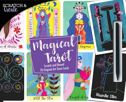 Scratch & Create Magical Tarot: Scratch and Reveal 78 Original Art Tarot Cards
