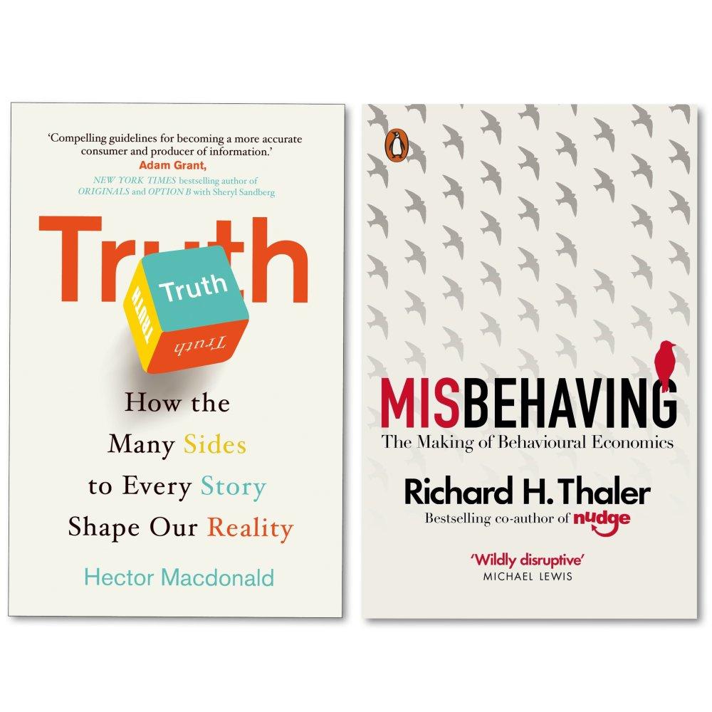 理性思考不糾結,人性真相看透徹(Misbehaving+Truth)