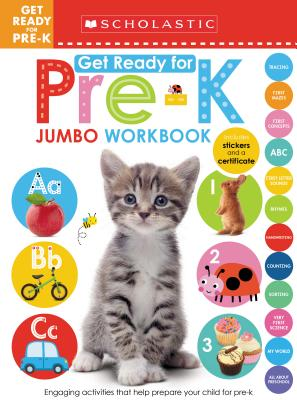 Get Ready for Pre-K Jumbo Workbook