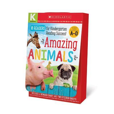 Amazing Animals Kindergarten: 16 Readers for Kindergarten Reading Success!