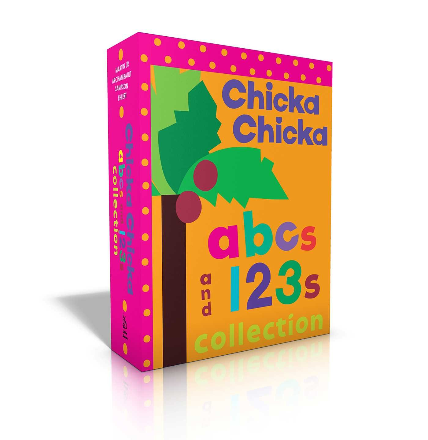Chicka Chicka Abcs and 123s Collection: Chicka Chicka ABC / Chicka Chicka 1, 2, 3 / Words