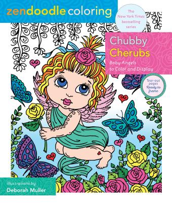 Chubby Cherubs: Baby Angels to Color and Display