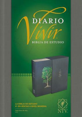 Diario Vivir Biblia De Estudio: Nuvea Traduccion Viviente, Tapa dura de tala