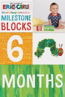 The World of Eric Carle - the Very Hungry Caterpillar Milestone Blocks
