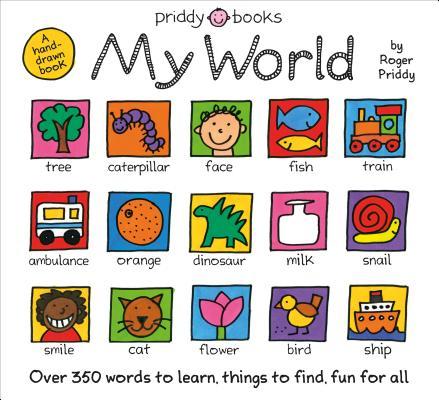 My World: A Hand-drawn Book