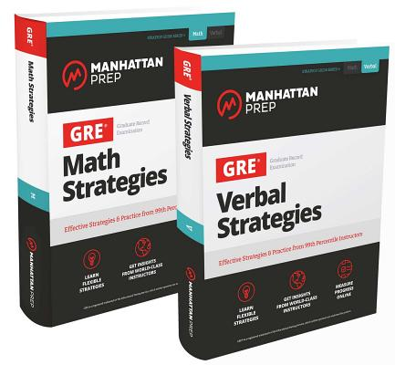 GRE Math Strategies / GRE Verbal Strategies: Effective Strategies & Practice from 99th Percentile Instructors