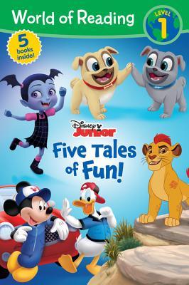 World of Reading Disney Junior Five Tales of Fun!