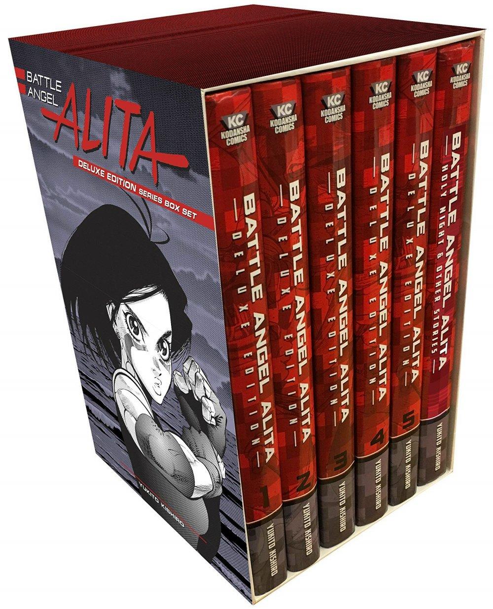 Battle Angel Alita Series Set: Includes 3 Lithograph Prints