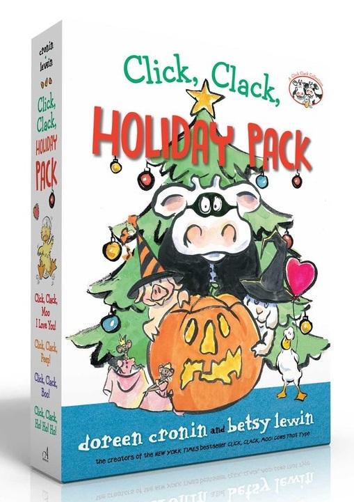 Click, Clack Holiday Pack: Click, Clack, Moo I Love You!; Click, Clack, Peep!; Click, Clack, Boo!; Click, Clack, Ho, Ho, Ho!