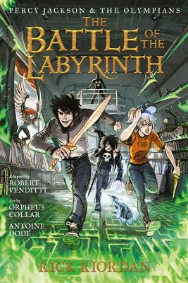 Percy Jackson & the Olympians 4: The Battle of the Labyrinth