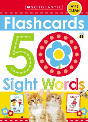 Sight Words Flashcards: Wipe Clean