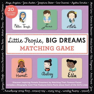 Little People, Big Dreams Matching Game: Celebrate the Wonderful Women of the World