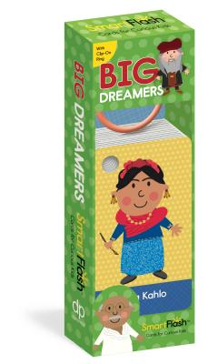 Big Dreamers: Smartflash - Cards for Curious Kids, Includes Clip on Rign