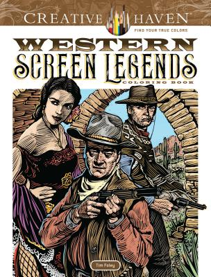Western Screen Legends Coloring Book
