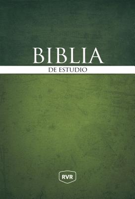 Biblia de estudio / Holy Bible: Reina Valera Revisada