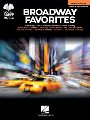 Broadway Favorites: Women's Edition: Singer + Piano/Guitar