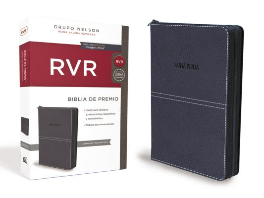 Santa Biblia / Holy Bible: Reina Valera Revisada, Azul con cierre, Leathersoft, Zippered