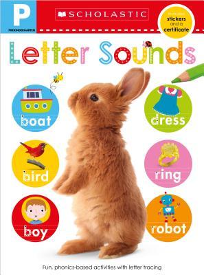 Letter Sounds Skills Workbook: Prekindergarten