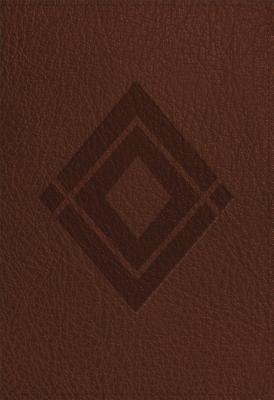 Baker Illustrated Study Bible: Christian Standard Bible, Baker Illustrated Study, Brown, Diamond Design Leathertouch