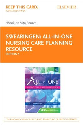 All-in-one Nursing Care Planning Resource Elsevier Ebook on Vitalsource Access Code: Medical-surgical, Pediatric, Maternity, and