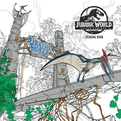 Jurassic World Fallen Kingdom Adult Coloring Book