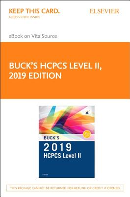 Buck's 2019 HCPCS Level II Elsevier eBook on VitalSource Access Card