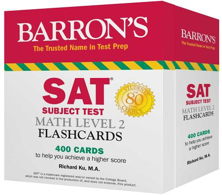 Barron's Sat Subject Test Math Level 2 Flashcards