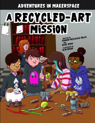 A Recycled-Art Mission: A 4d Book