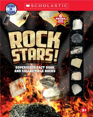Rock Stars!: Supersized Fact Book and Collectible Rocks
