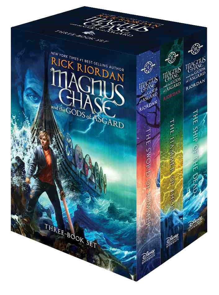 Magnus Chase and the Gods of Asgard: The Sword of Summer / the Hammer of Thor / the Ship of the Dead / Bonus Chapter Sampler