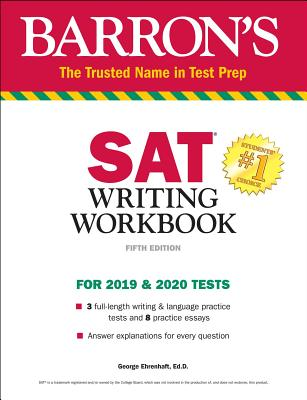 Barron's SAT Writing Workbook: For 2019 & 2020 Tests