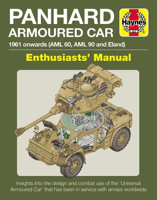 Haynes Panhard Armoured Car Enthusiasts' Manual: 1961 Onwards (AML 60, AML 90 and Eland): Insights into the Design and Combat Us