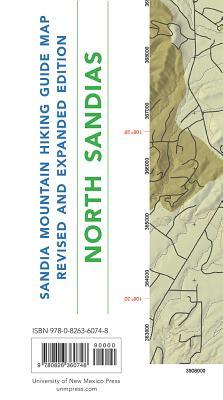 Sandia Mountain Hiking Guide Map