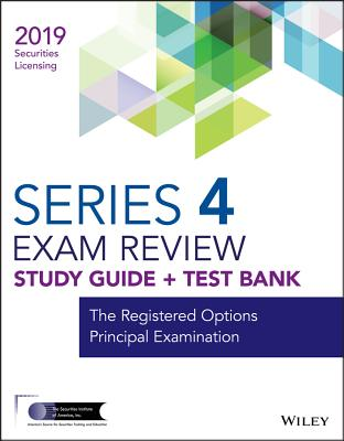 The Registered Options Principal Examination Exam Review 2019 + Test Bank
