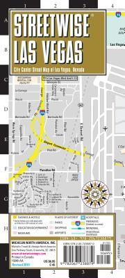 Michelin Streetwise Las Vegas: City Center Map of Las Vegas, Nevada