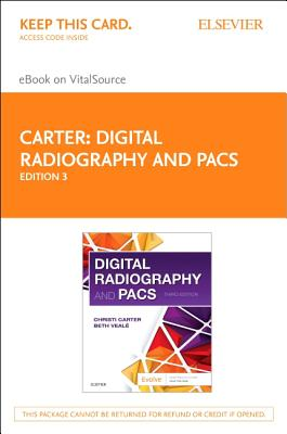 Digital Radiography and Pacs Elsevier Ebook on Vitalsource Access Code