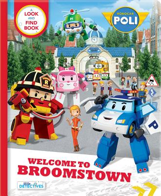 Welcome to Broomstown: A Look and Find Book