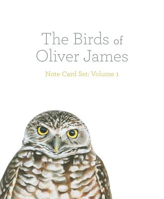 The Birds of Oliver James Note Card Set: Colored-pencils Illustrations