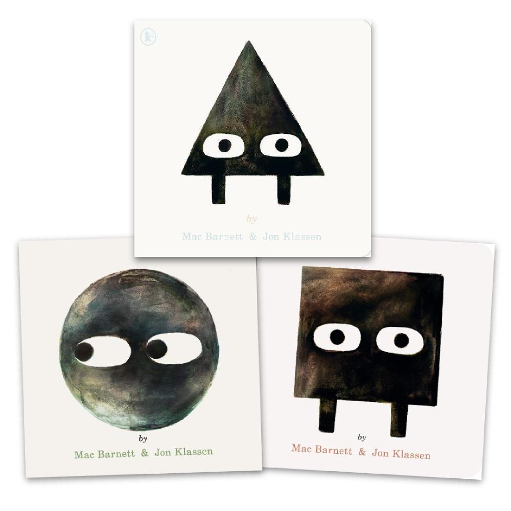 雍.卡拉森《形狀三部曲套書》