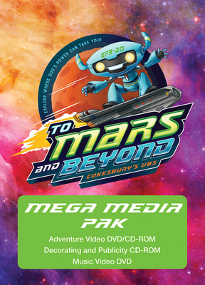 Vacation Bible School 2019 to Mars and Beyond Mega Media Pak: Explore Where God's Power Can Take You!