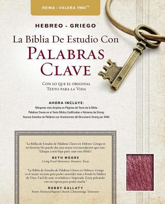 Biblia de studio palabra clave con diccionarios Hebreo y Griego / The Hebrew-Greek Key Word Study Bible: Reina-Valera 1960, borg