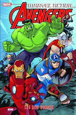 Marvel Action Avengers the New Danger 1